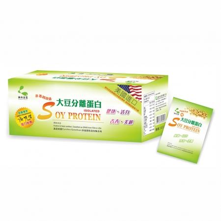 涵本100%非基因改造大豆分離蛋白 (30包/盒) 3